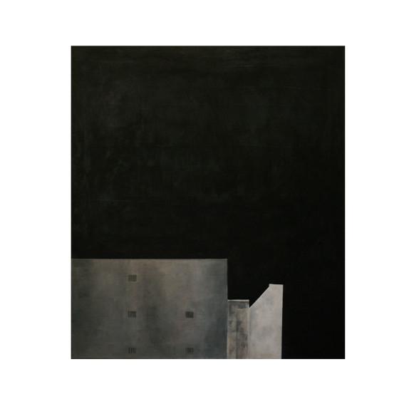 Rue Claire - acrylique sur toile - 80_70