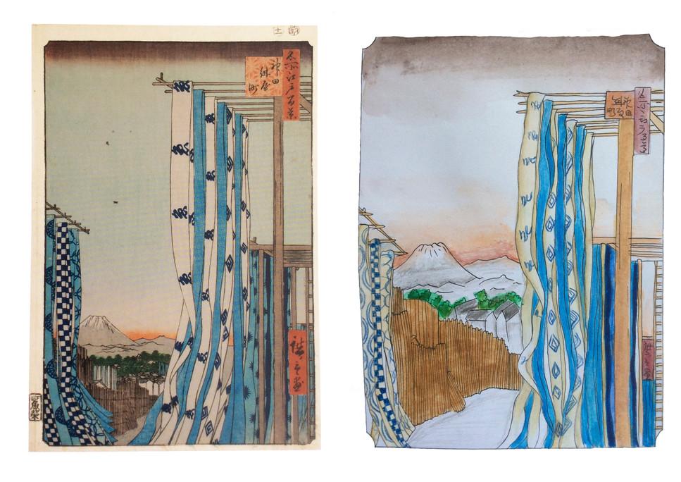 Hiroshige - Salomé