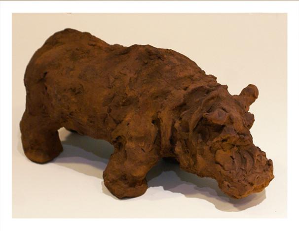 Hippopotame 16_27cm