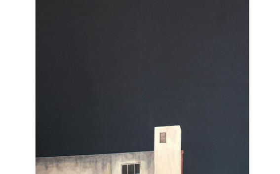 Carrer de Leiva - acrylique sur toile -