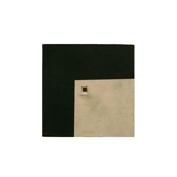Découpe 2 - acrylique sur toile - 30_30