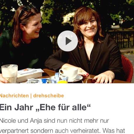 FRAU UND FRAU W BEI ZDF DREHSCHEIBE