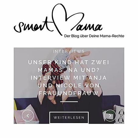 FRAU UND FRAU W IM INTERVIEW MIT SMARTMAMA