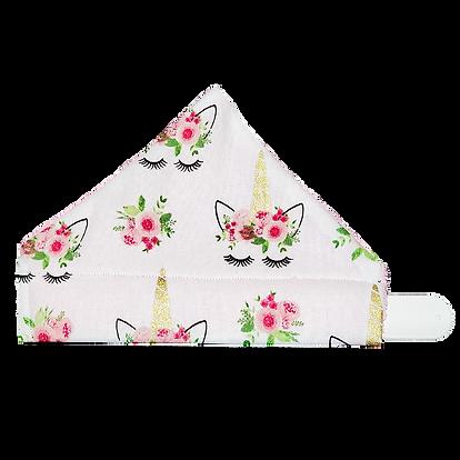 unicorn napkin front view