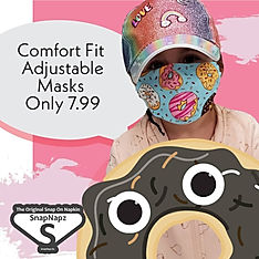 comfort fit adjustable masks