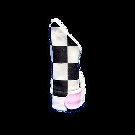 checkered pattern napkin