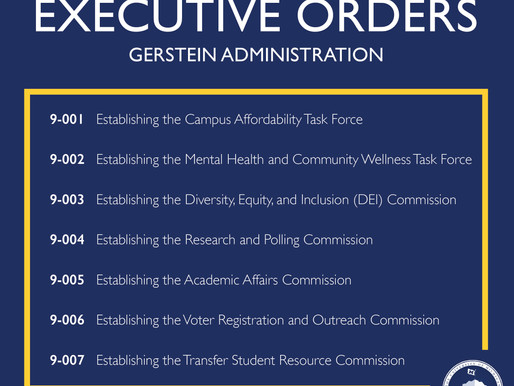 Executive Orders Establishing Commissions and Task Forces