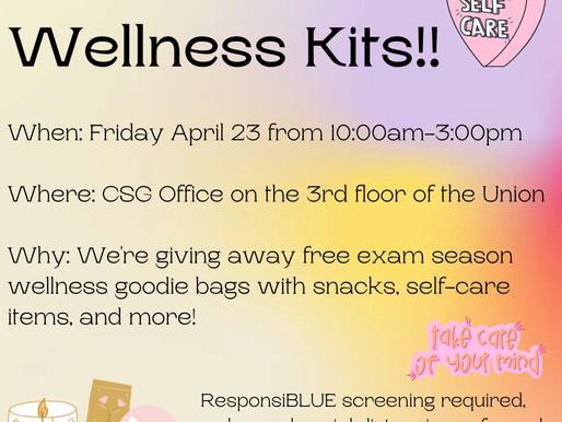 CSG Offering Free Wellness Kits!