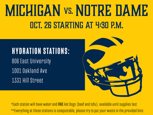 Hydration Stations- October 26, 2019