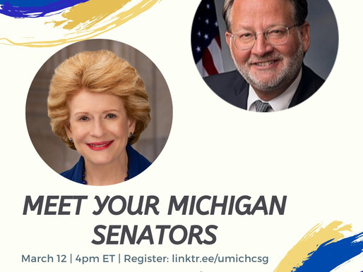 A Congressional Update from Senator Stabenow and Senator Peters