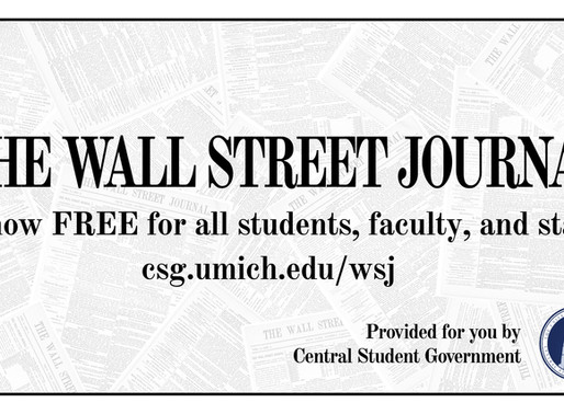 CSG sponsors Wall Street Journal subscriptions