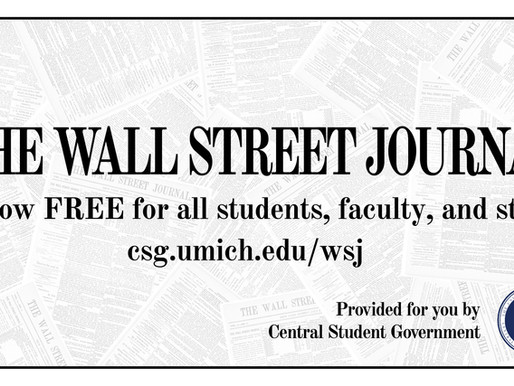 CSG sponsors Wall Street Journal subscriptions