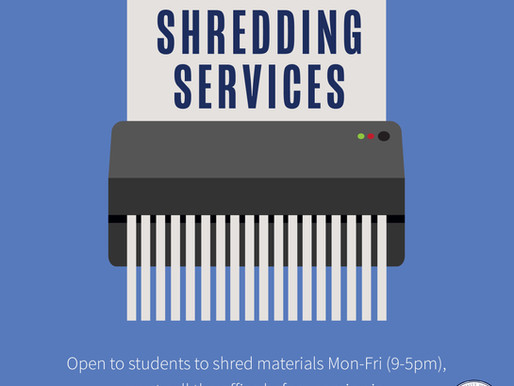 Shredding Service for Students