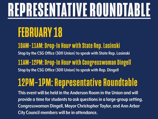 Representative Roundtable