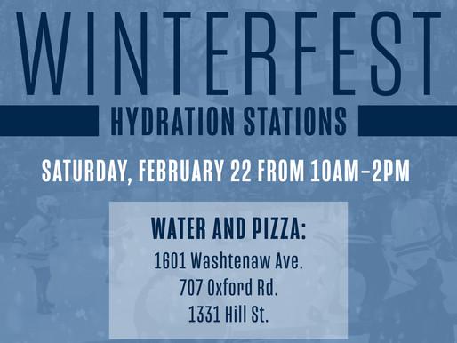Winterfest Hydration Station