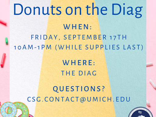 Donuts on the Diag
