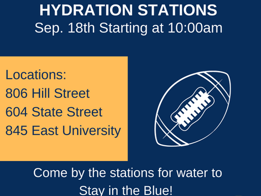 Hydration Stations - September 18th, 2021