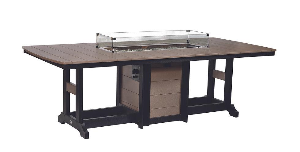"Garden Classic 44"" x 96"" Fire Table"