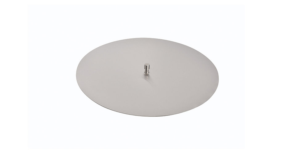 Round Stainless Steel Burner Cover