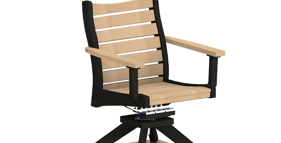 Bristol Swivel Rocker Dining Chair