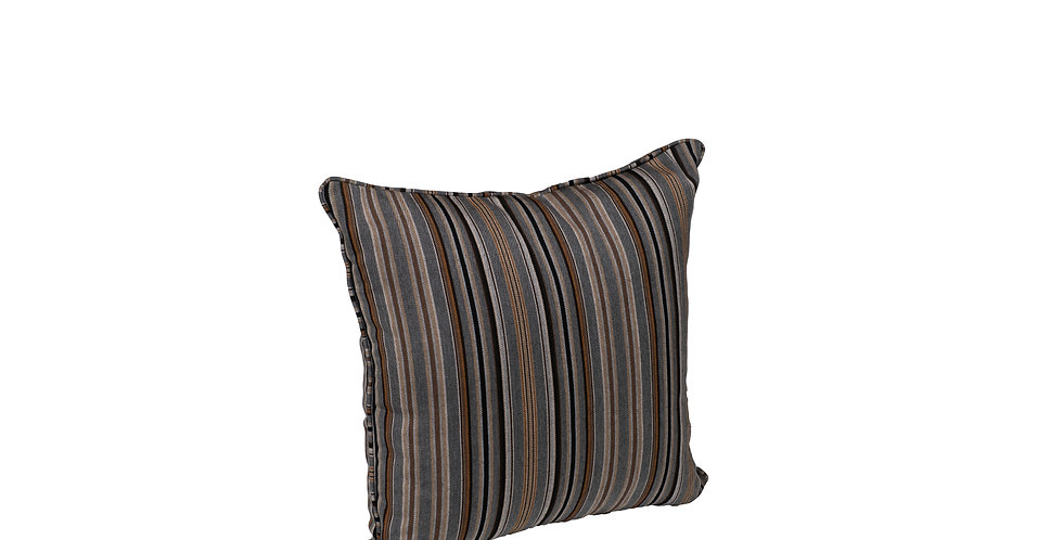 "17"" x 17"" Throw Pillow with Cording"