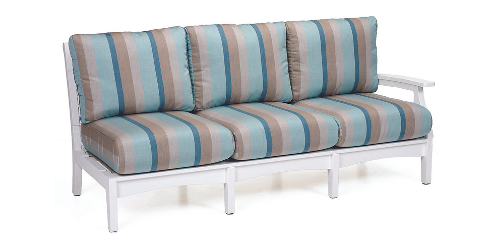 Classic Terrace Left Arm Sectional Sofa