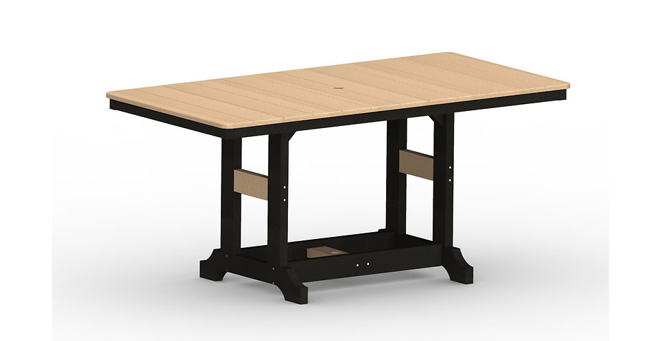"Garden Classic 33"" x 66"" Rectangular Table"