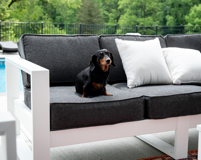 White Nordic Sofa
