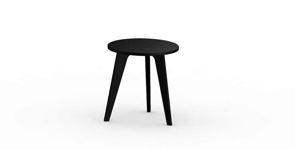 Nordic Round End Table