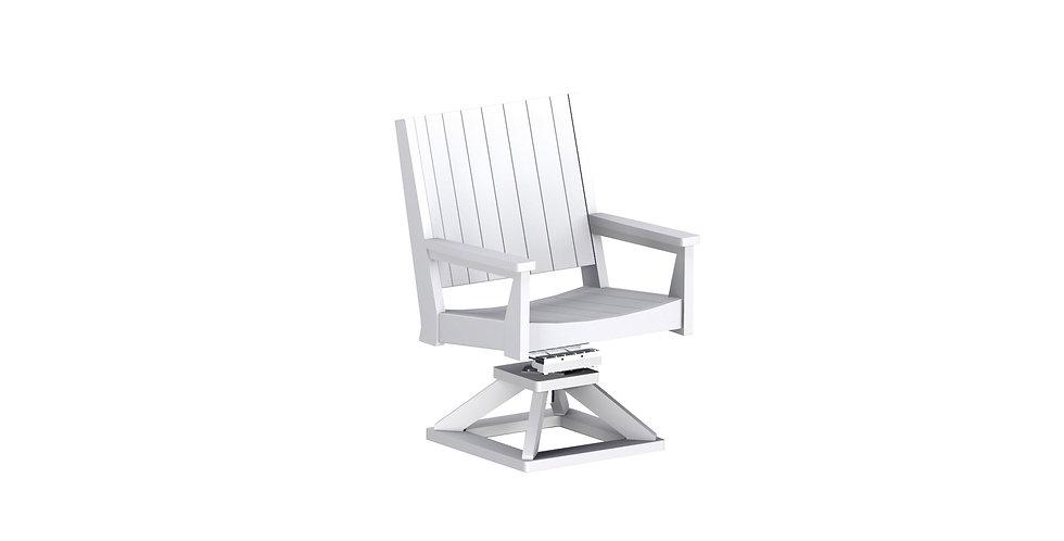Mayhew Chat Swivel Rocker Dining Chair