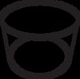 10D-550 Round Tub