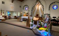 Church White Easter