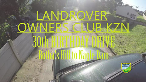 Landrover Owners Club KZN 30th Birthday Drive