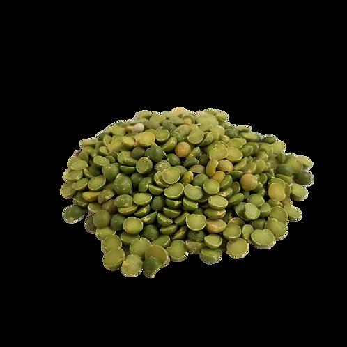 Pois verts Cassés bio