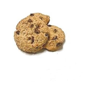 Biscuit amandes, chocolat et noisettes bio