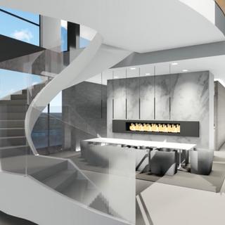 Aria Design light and tridimensional studies