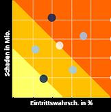 Unternehmensweites Risikomanagement - Risikomatrix