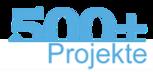Mehr als 500 Projekte