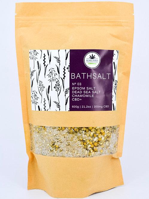 CBD Chamomile Salt Bath No. 03