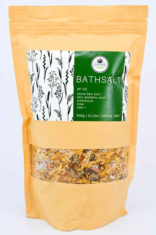 CBD Marigold Salt Bath No. 02