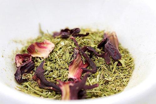 CBD Hibiscus Tea contents