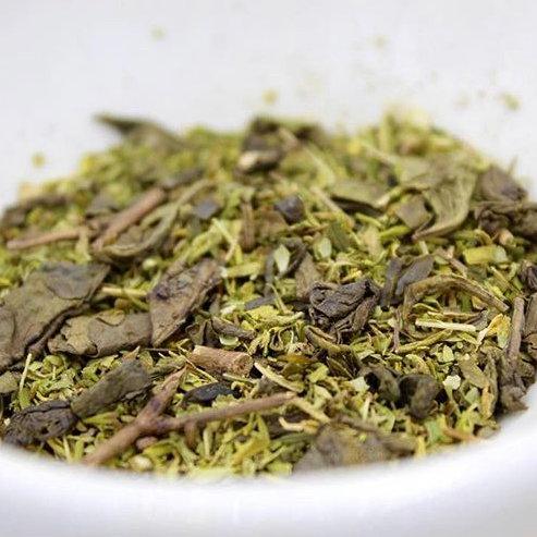 Organic Hemp tea & Moroccan mint