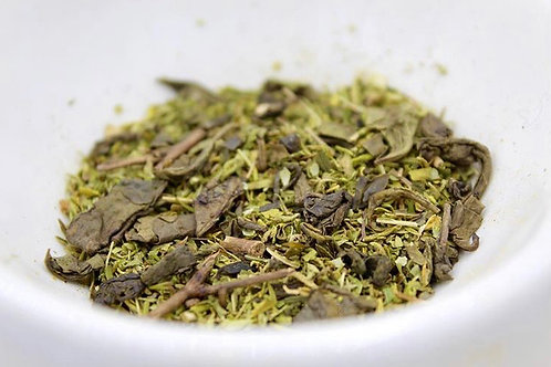 CBD Mint Tea Contents