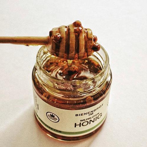 Organic Honey with Perga and CBD +