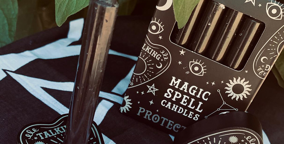 Spell Candles & Planchette Holder