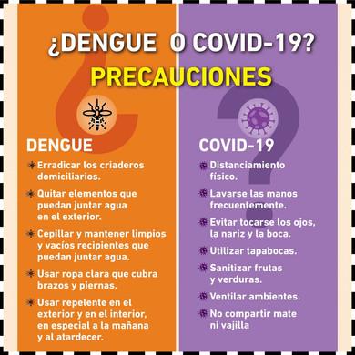 Dengue + Covid-19