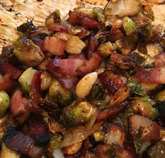 Caramelized Bacon and Brussels