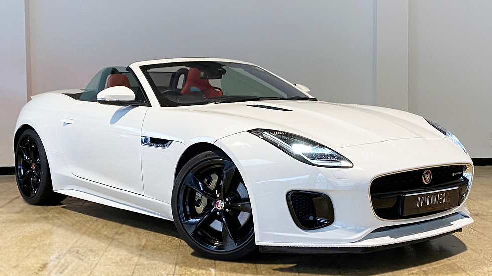 JAGUAR F-TYPE 3.0 SUPERCHARGED V6 R-DYNAMIC CONVERTIBLE (YF18 VHH)