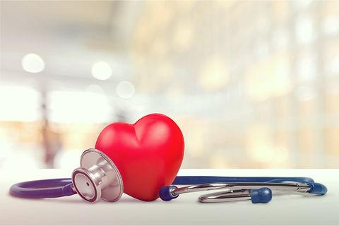 One single alone red heart love shape ha
