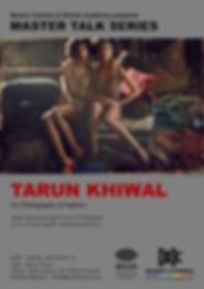 Master talk series Tarun Talk on photography and fashion